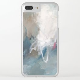 Joie de Vivre Clear iPhone Case