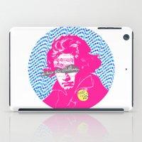 beethoven iPad Cases featuring Ludwig van Beethoven 18 by Marko Köppe