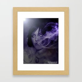 Smoke Fade Framed Art Print