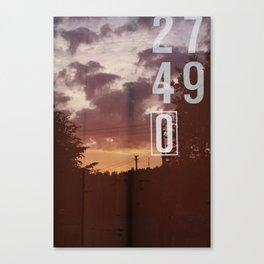Dawn 2749 Canvas Print