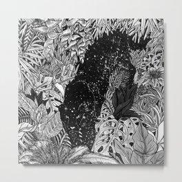 The Jungle At Night Metal Print