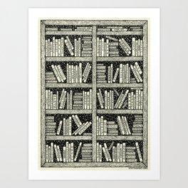 SPACE LIBRARY - Visothkakviei Art Print