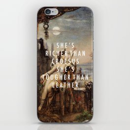 Step to Cleopatra iPhone Skin