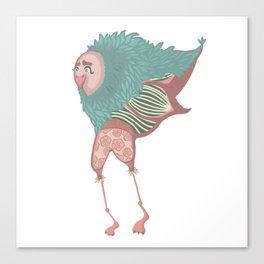 Male bird Canvas Print