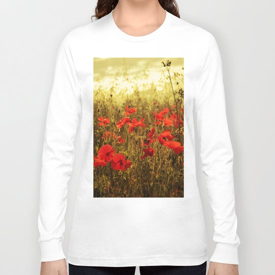 Poppy Glow Long Sleeve T-shirt