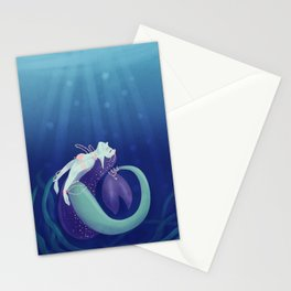 Pearl Mermaid Stationery Cards