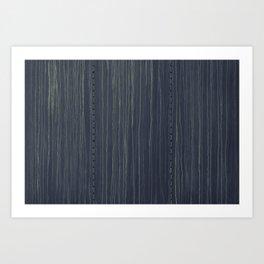 Deep Blue Boxcare Art Print