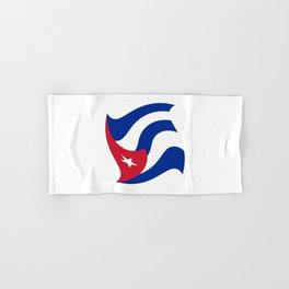 Flag of Cuba 3 -cuban,havana, guevara,che,castro,tropical,central america,spanish,latine Hand & Bath Towel