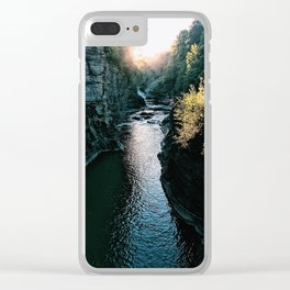 Letchworth Clear iPhone Case