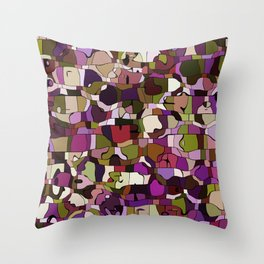 Abstract animals Throw Pillow