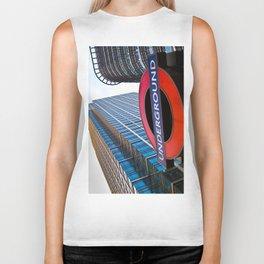 Canary Wharf  Biker Tank