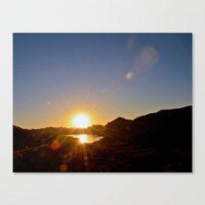 Canyon Lake Canvas Print