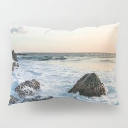 Rocks and the Ocean Pillow Sham