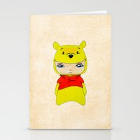 pooh Stationery Cards featuring A Boy - Winnie-the-Pooh by Christophe Chiozzi