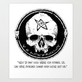 Strange Aeons Art Print