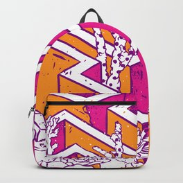 In a labyrinth Backpack