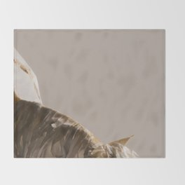 Mongrel Grey Throw Blanket