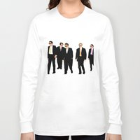 reservoir dogs Long Sleeve T-shirts featuring Reservoir Dogs by Tom Storrer