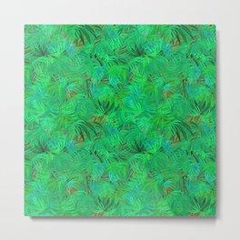 Tropical greenery 2017 Hideaway Metal Print
