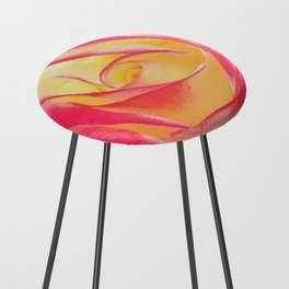 Summer Rose Untouched Counter Stool