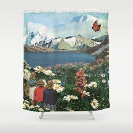 Field Trip Shower Curtain