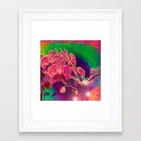 hummingbird Framed Art Prints featuring Hummingbird by Joe Ganech