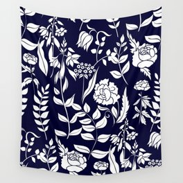 Floral design Wall Tapestry