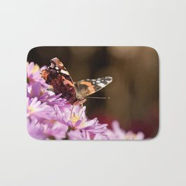 Autumn Butterfly Bath Mat