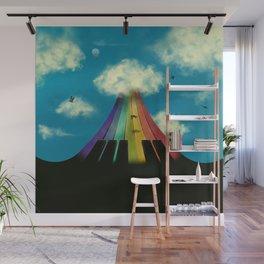 Seven notes, seven colors Wall Mural