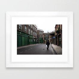 + On park street - London (GBR) Framed Art Print