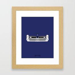 Minimal GTO 1967 Framed Art Print