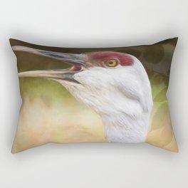 Bird Art - Look Who's Talking Rectangular Pillow