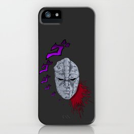JoJo's Bizarre Adventure Stone Mask iPhone Case
