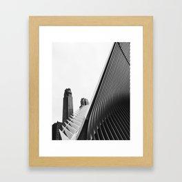 Don't trip 43 Framed Art Print