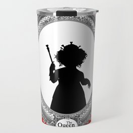 Alice's Adventures in Wonderland - Queen of Hearts Silhouette Travel Mug