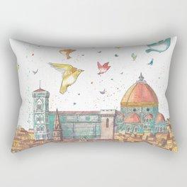Colors Of Florence Rectangular Pillow
