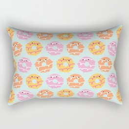 Kawaii Party Rings Biscuits Rectangular Pillow