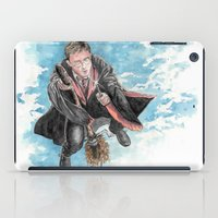 harry potter iPad Cases featuring Harry Potter  by Dave Seedhouse.com