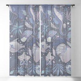 The Magic of the Sea Sheer Curtain