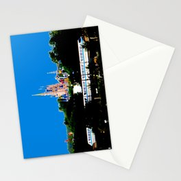 Castle & Monorail Stationery Cards