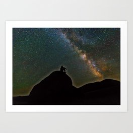 Milky Way Sky Art Print