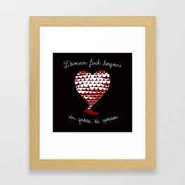 Anti-Valentine Framed Art Print