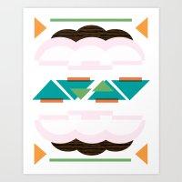 Metro Mix Series // Adelyn Art Print