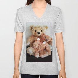 I Love Teddy Bears Unisex V-Neck