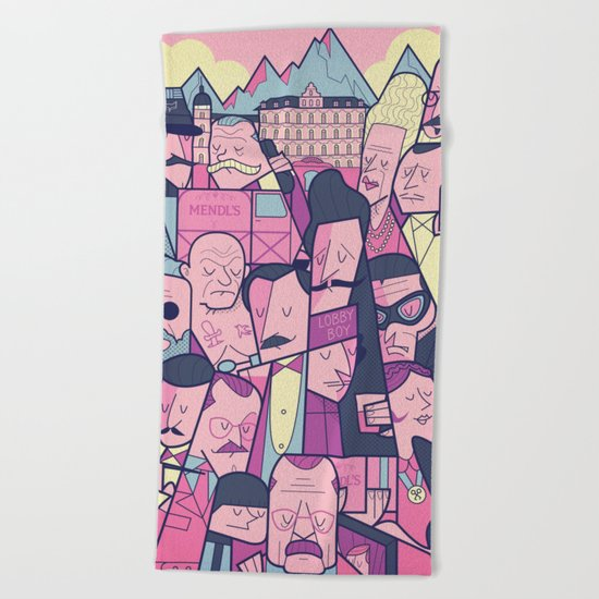Grand Hotel Beach Towel