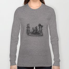 CIVILIZED SAVAGES Long Sleeve T-shirt
