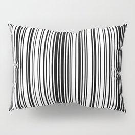 Barcode Pattern Pillow Sham