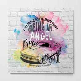 The Lovely Reckless - Angel Metal Print