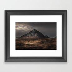 The Buachaille Dusk Framed Art Print
