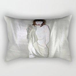 "say no to patriarchy / ""the venus"" Rectangular Pillow"